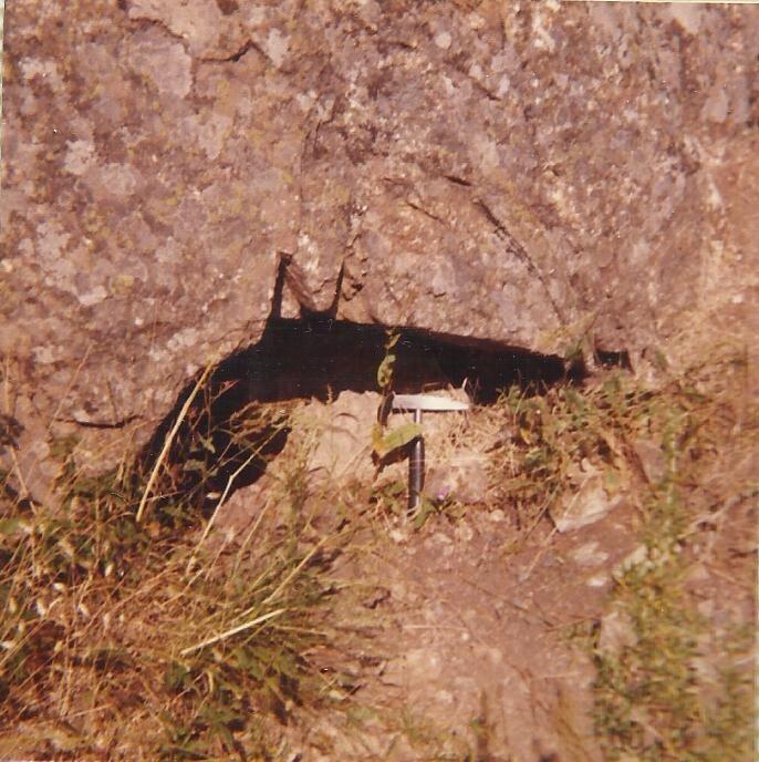 Mina de La Atalaya, bocamina, años 80s (Andres Diez Herrero)