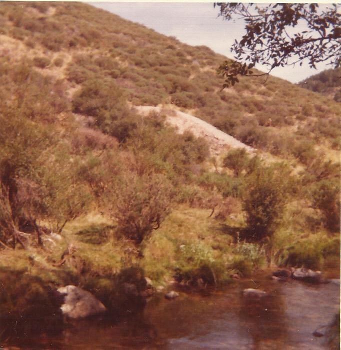 Mina de La Atalaya, escombrera, años 80s (Andres Diez Herrero)