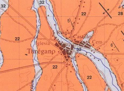 Mapa geologico Turegano MAGNA