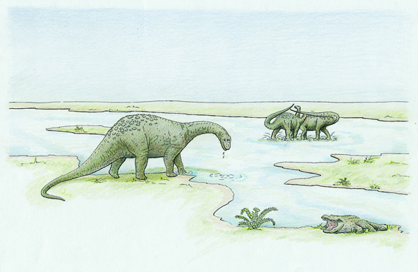 dinosaurios Segovia-las raices del paisaje