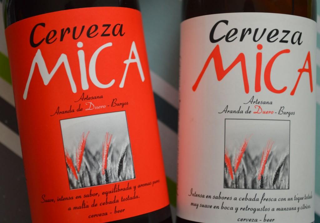Botellas cerveza Mica