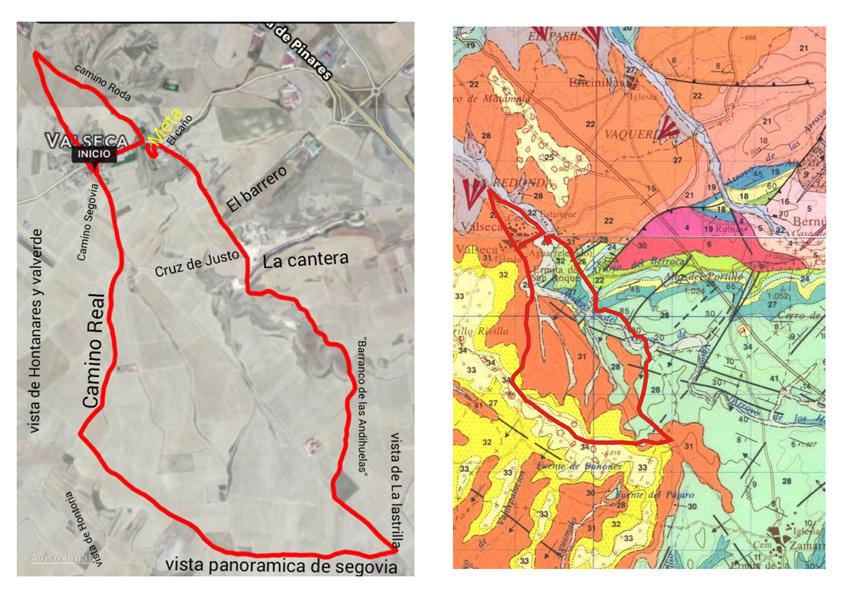 Geologia de la carrera de El Garbanzal de San Isidro (78 ppi)