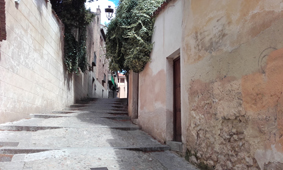 Trasera patio Torreón de Lozoya