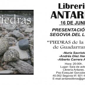 Este jueves 16 no se presenta un libro de Geología en Segovia... se presentan dos el mismo día
