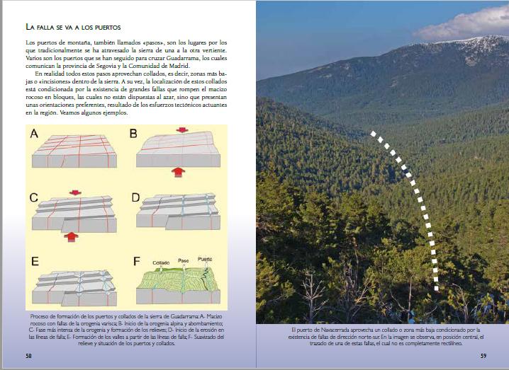Guia Piedras Guadarrama, paginas 58 y 59