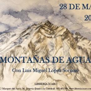 Las 'Montañas de agua' se presentan en Segovia