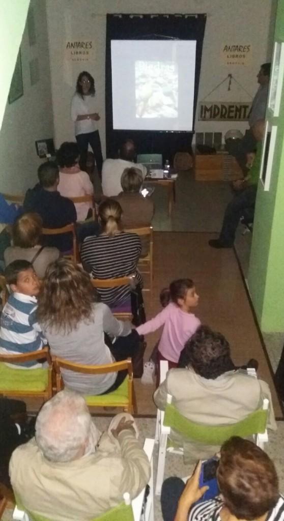 2016-06-16 Presentacion libro Piedras en Antares