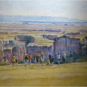 La geología de Segovia sí que 'pinta mucho'