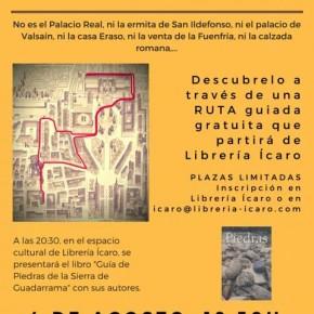 Presentación de la Guía de Piedras de la Sierra de Guadarrama en La Granja