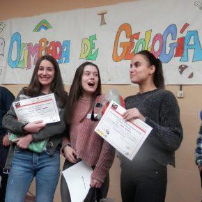 Resultados de la edición segoviana de la 8ª Olimpiada de Geología