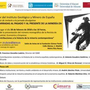 Cuatro miradas al pasado y al presente de la minería de España