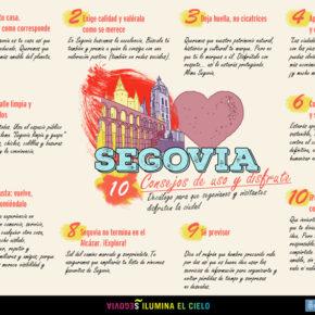 Segovia: 10 consejos de uso y disfrute