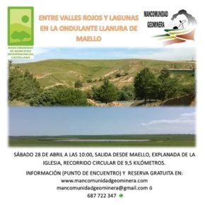 Próximas excursiones organizadas desde Mancomunidad Geominera