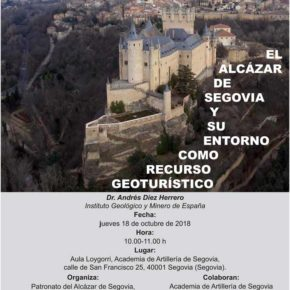 El Alcázar de Segovia y su entorno como recurso geoturístico