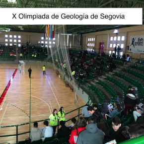"""Llegada a meta en la """"X GEOlimpiada"""" de Segovia."""