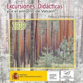Excursiones didácticas por el entorno de Valsaín 2019